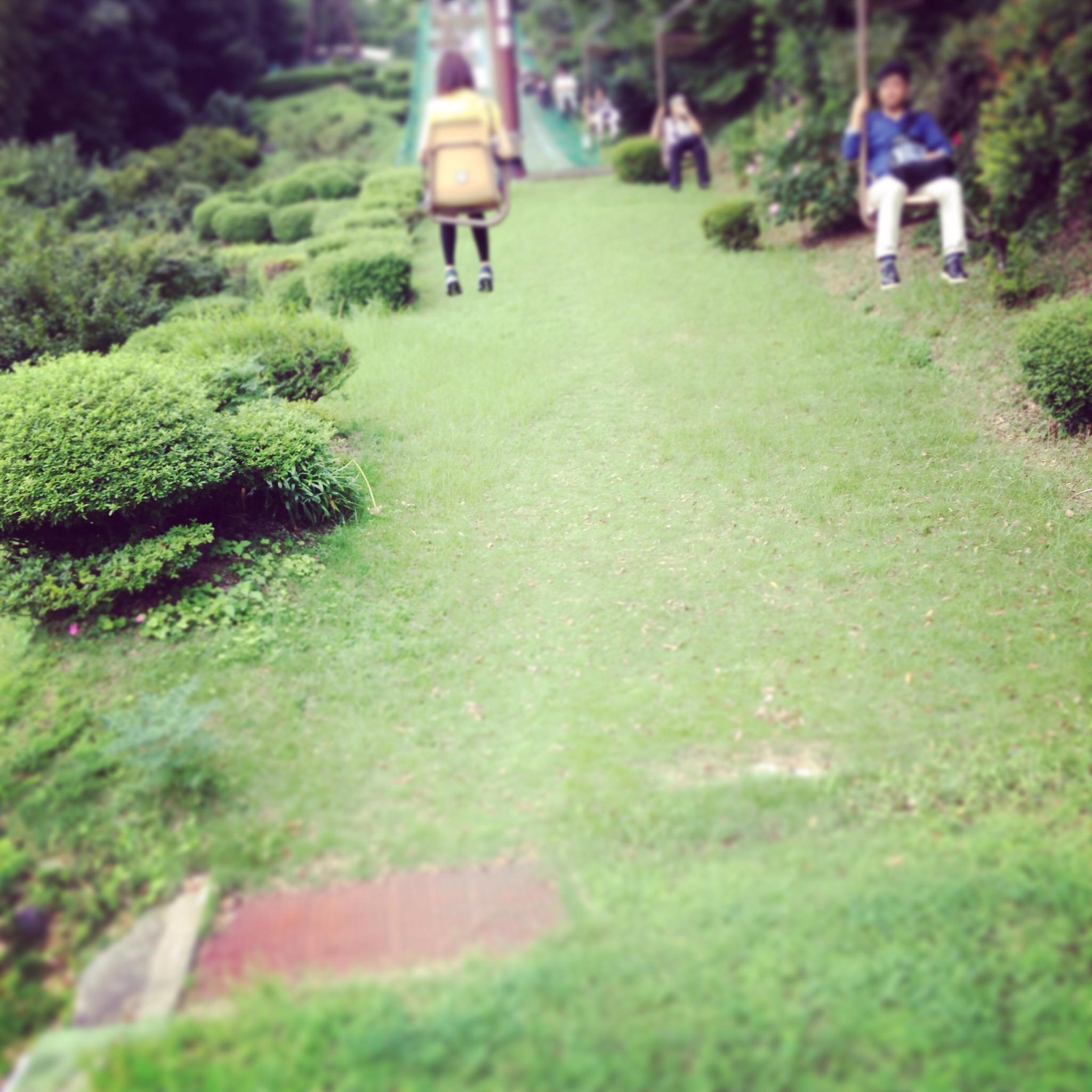 松山城へのロープーウェイ