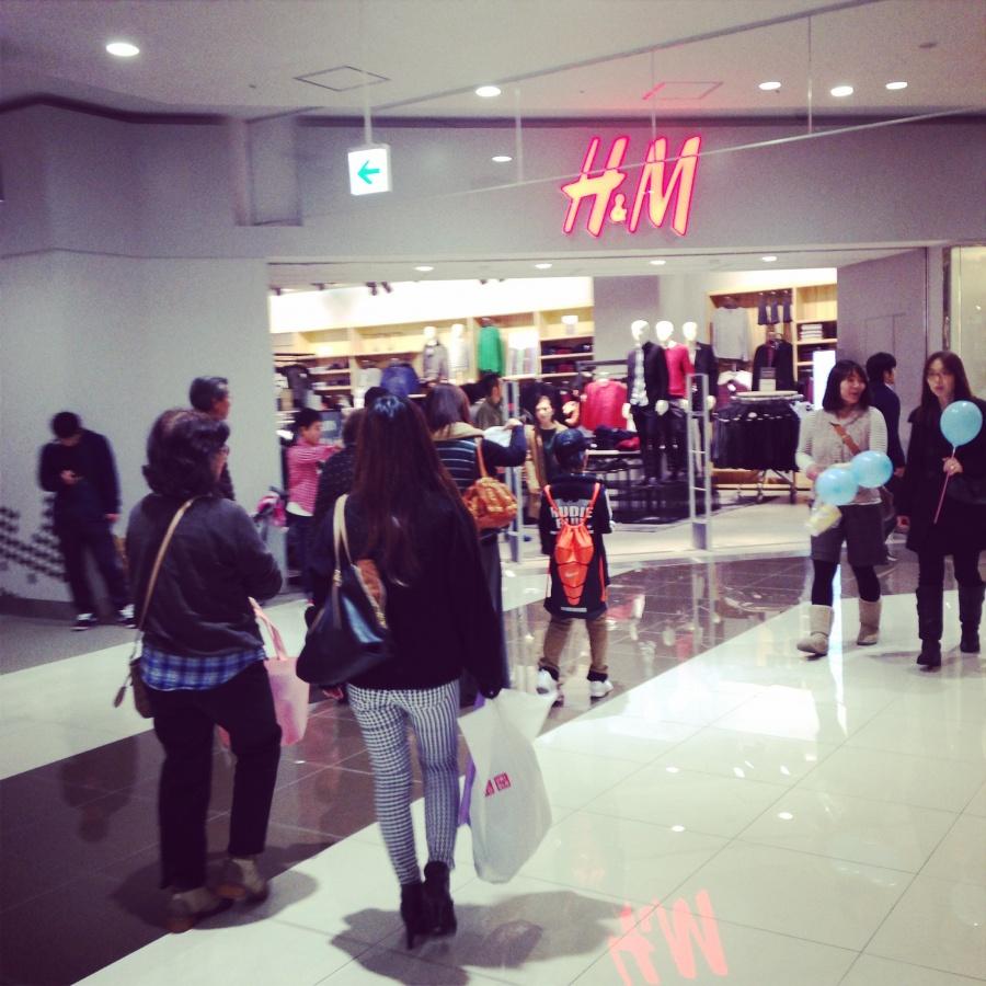 H&M 外観