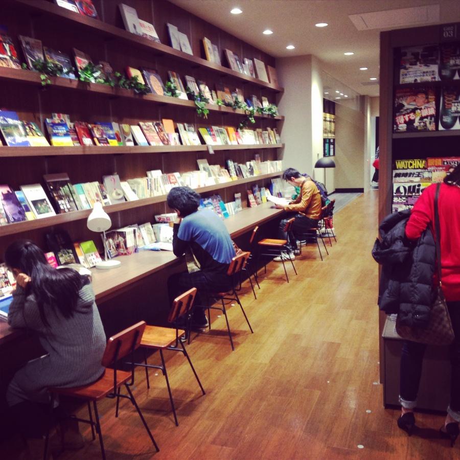 未来屋書店 座席