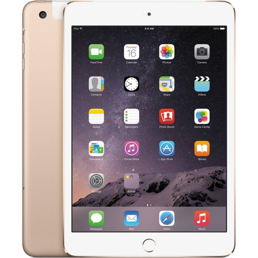 iPad mini3 ゴールド au cellular