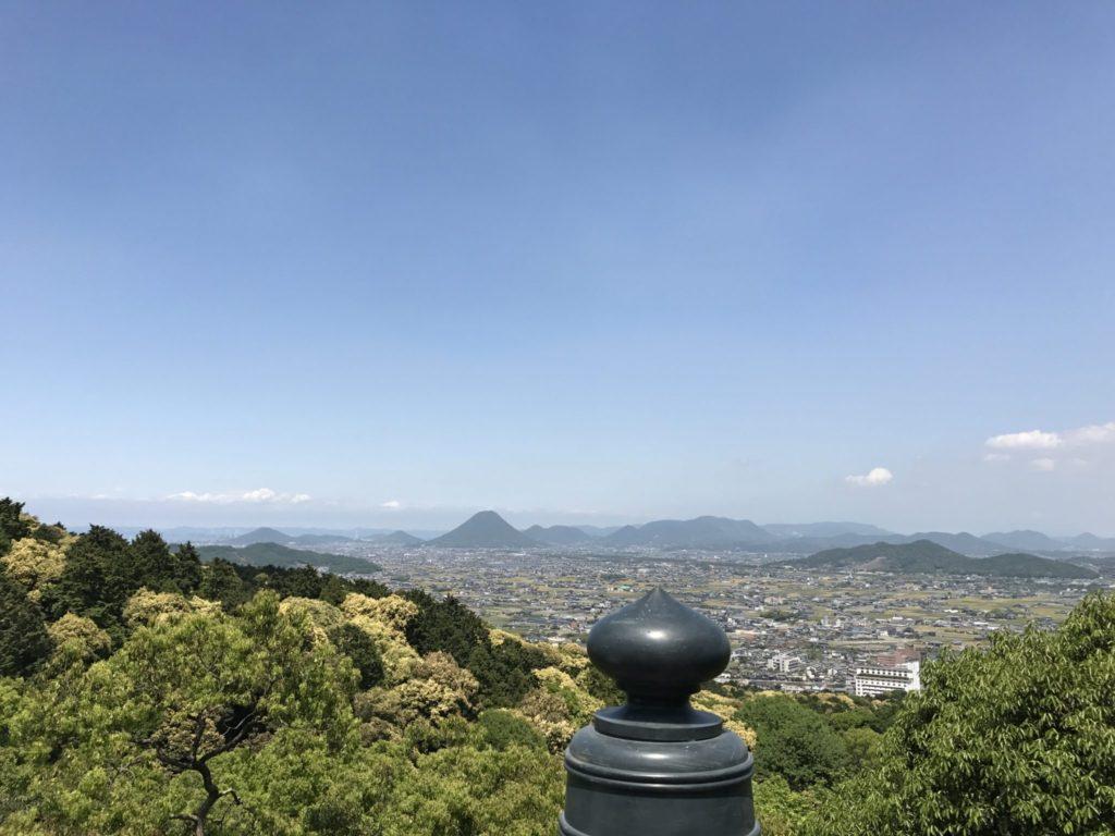 こんぴら本殿からの眺め