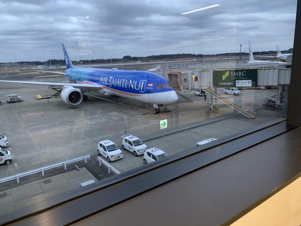 成田空港 エアタヒチヌイ