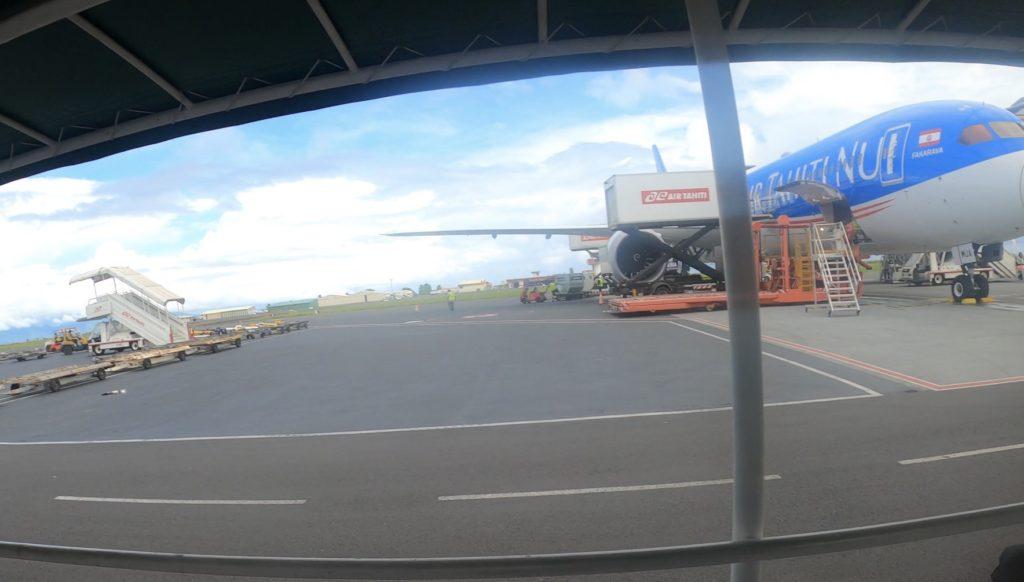 タヒチ島ファアア国際空港