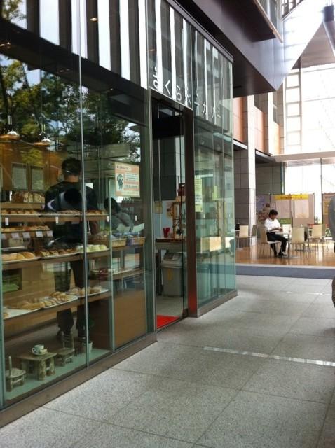 千代田図書館さくらベーカリー外観写真